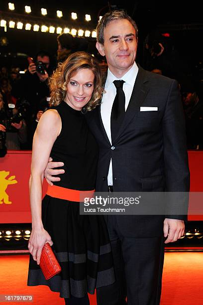 Lisa Martinek and Giulio Ricciarelli attend the Closing Ceremony of the 63rd Berlinale International Film Festival at Berlinale Palast on February 14...