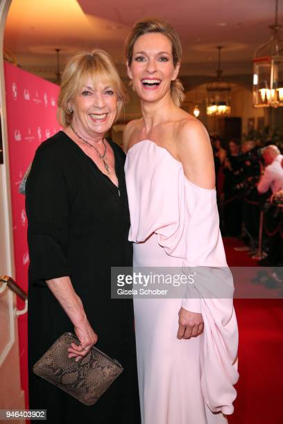 Lisa Martinek and her mother Jutta Wittich during the Gala Spa Awards at Brenners ParkHotel Spa on April 14 2018 in BadenBaden Germany