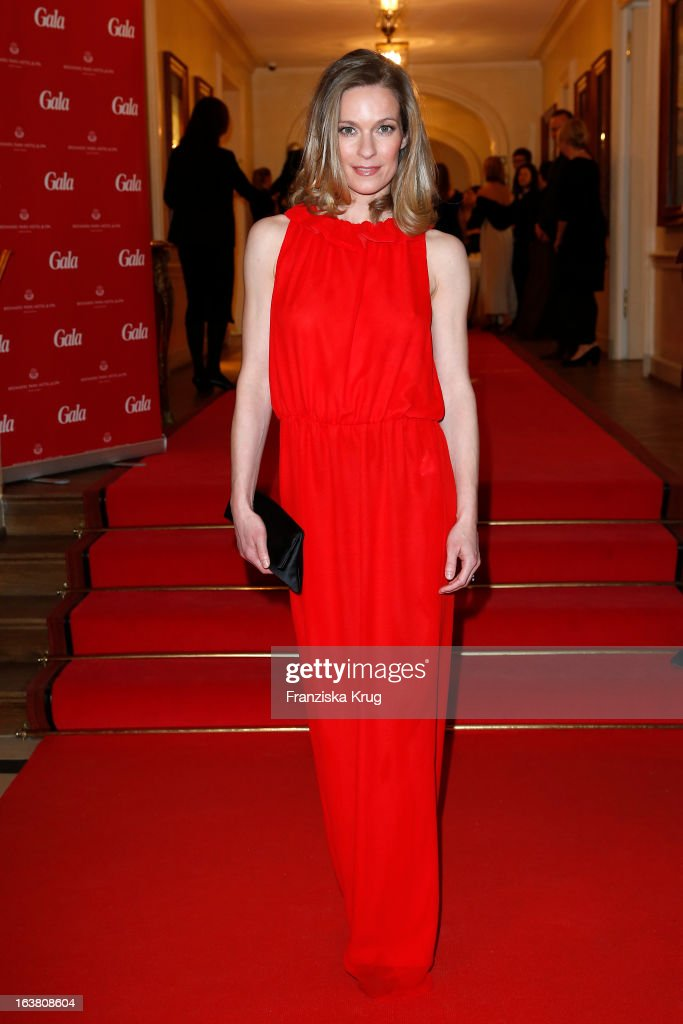Lisa Martinek attends the Gala Spa Awards 2013 at the Brenners Park Hotel on March 16, 2013 in Berlin, Germany.