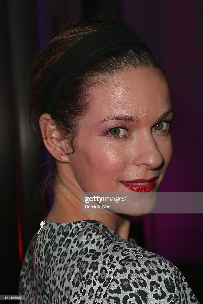 Lisa Martinek attends the Ndf Afterwork Party at 8 Seasons on March 20, 2013 in Munich, Germany.