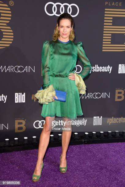 Lisa Martinek attends the PLACE TO B Party on February 17 2018 in Berlin Germany