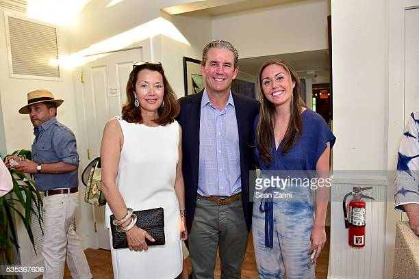 Lisa McCarthy Brian McCarthy and Alana McCarthy attend Animal Rescue Fund of the Hamptons 6th Annual Thrift Shop Designer Showhouse at ARF Thrift...