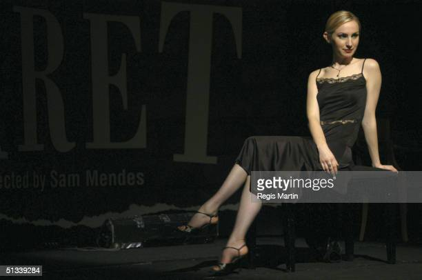 05/08/02 Lisa McCune At the media call for the stage show Cabaret at the Grand Hyatt Hotel Melbourne Australia