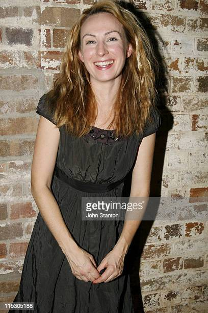 Lisa McCune during 'Urinetown' Sydney Opening Night at Sydney Theatre Company Walsh Bay in Sydney NSW Australia