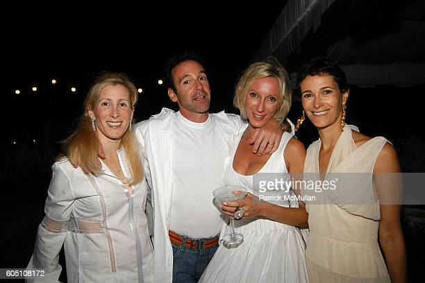 Lisa Melas Jackie Astier and Jeanne Greenberg Rohatyn attend Kevin and Ulla Parker with Carlos and Ana Maria Perez host End of Summer White...