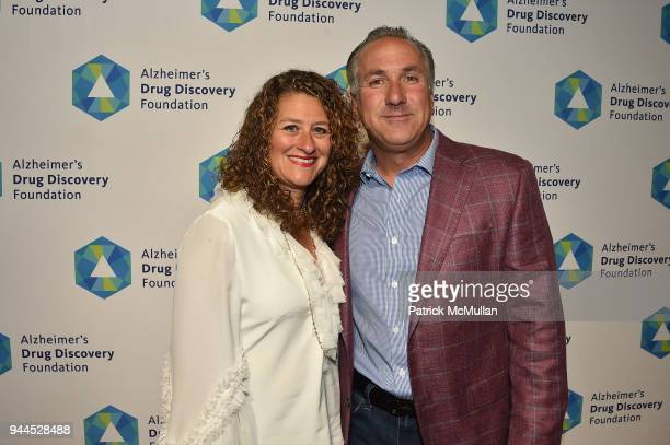 Lisa Meli and Frank Meli attend the Alzheimer's Drug Discovery Foundation's Memories Matter at Pier 60 Chelsea Piers on April 10 2018 in New York City
