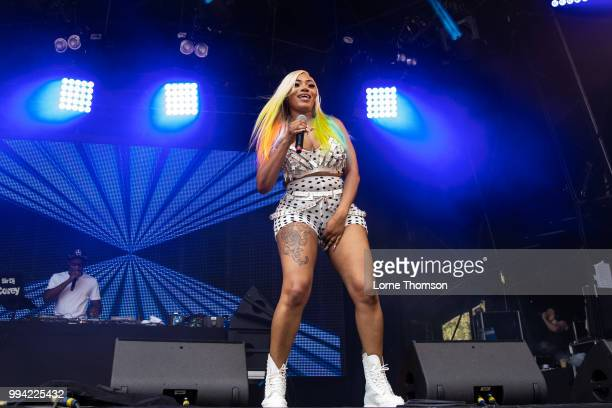 Lisa Mercedez performs during Wireless Festival 2018 at Finsbury Park on July 8th 2018 in London England