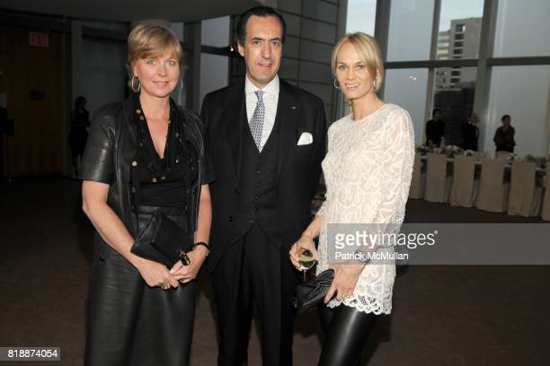 Lisa Montague Jaime de Marichalar and Lise Evans attend LOEWE Dinner at The Magic Room on April 27 2010 in New York City