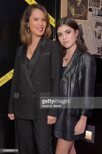 Lisa Moorish and Molly Moorish attend a launch party to celebrate Warehouse collaborating with Fashion Week designer Ashish at The Curtain on...