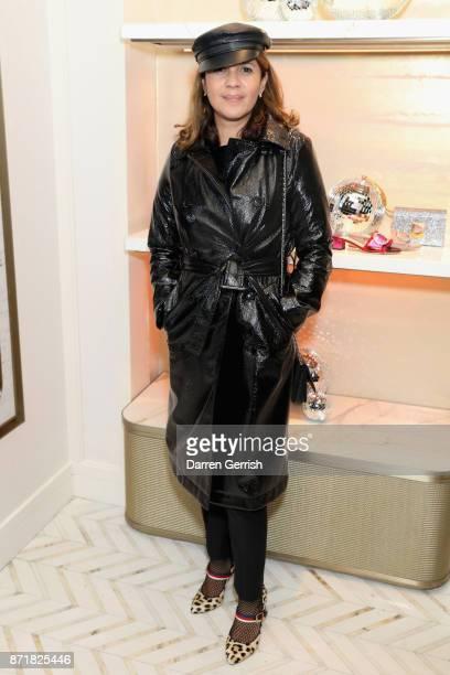Lisa Moorish attends Jimmy Choo X Annabel's party hosted by Pierre Denis CEO and Derek Blasberg at 27 New Bond Street on November 8 2017 in London...