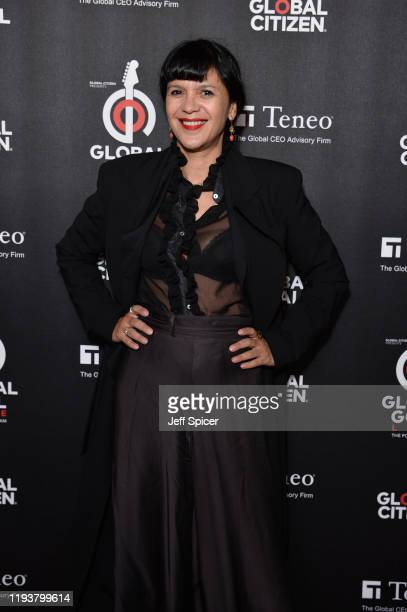 Lisa Moorish attends the 2019 Global Citizen Prize at the Royal Albert Hall on December 13 2019 in London England