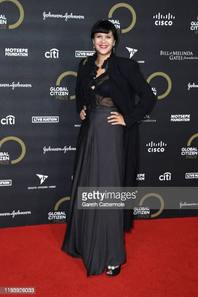 Lisa Moorish attends the Global Citizen Prize 2019 at Royal Albert Hall on December 13 2019 in London England