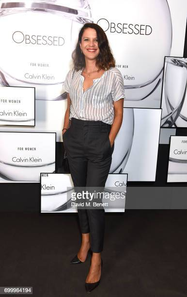 Lisa Moorish attends the Kate Moss Mario Sorrenti launch of the OBSESSED Calvin Klein fragrance at Spencer House on June 22 2017 in London England