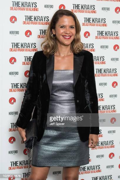 Lisa Moorish attends 'The Krays Dead Man Walking' UK premiere at The Genesis Cinema on September 9 2018 in London England