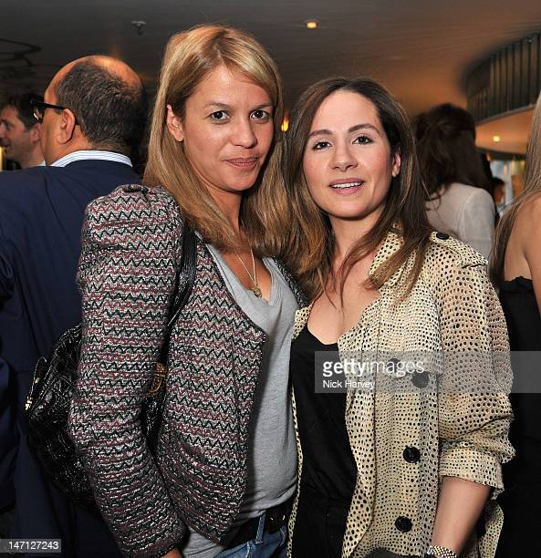 Lisa Moorish attends the launch of Jax Coco coconut water at Harvey Nichols on June 25, 2012 in London, England.