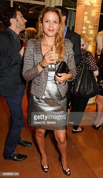 Lisa Moorish attends the launch of Manhattan Loft Gardens Harry Handelsman's newest property on September 18 2014 in London England