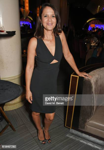 Lisa Moorish attends the launch of Quaglino's Q Legends Summer Series featuring special guests The Commitments on July 18 2017 in London England