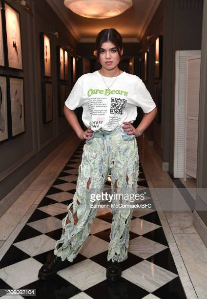Lisa Moorish attends the Roberta Einer AW20 Dinner during London Fashion Week February 2020 at Claridge's Hotel on February 13 2020 in London England