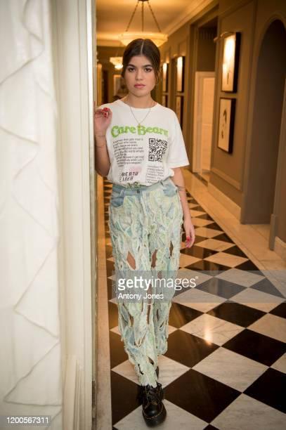 Lisa Moorish attends the Roberta Einer dinner at Claridge's Hotel on February 13 2020 in London England