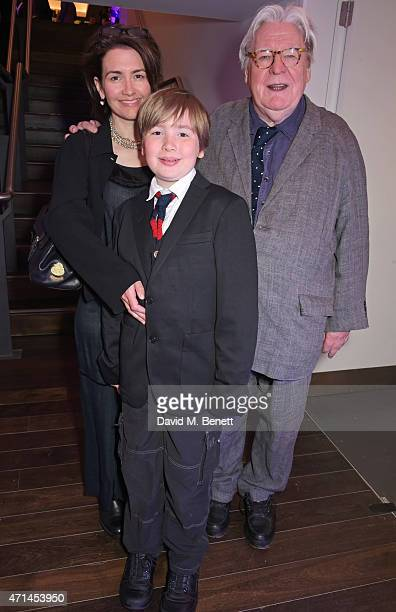 Lisa Moran Sir Alan Parker and son attend the opening of the Lyric Hammersmith's Reuben Foundation Wing and Bugsy Malone at the Lyric Hammersmith on...