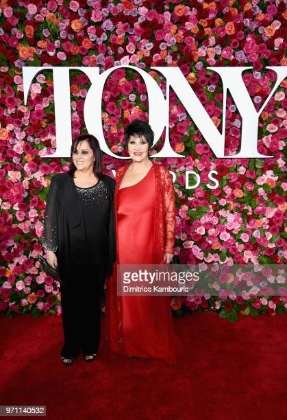 Lisa Mordente and Chita Rivera attend the 72nd Annual Tony Awards at Radio City Music Hall on June 10 2018 in New York City