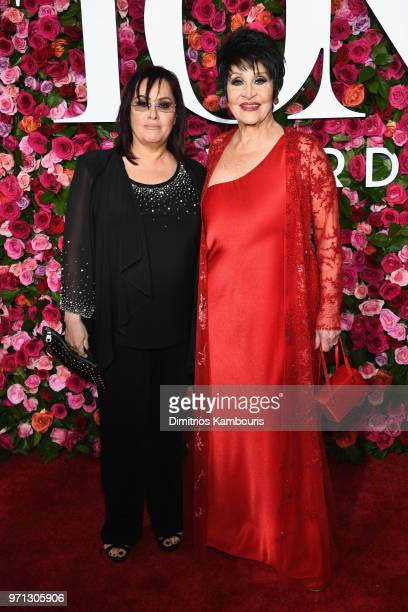 Lisa Mordente and Chita Rivera attends the 72nd Annual Tony Awards at Radio City Music Hall on June 10 2018 in New York City