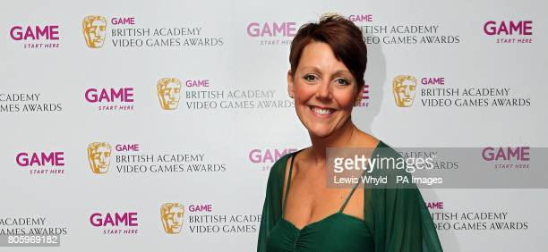 Lisa Morgan, CEO of Game, at the 2010 Game British Academy Video Games Awards at the London Hilton.