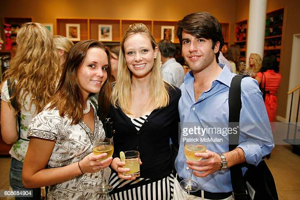 Lisa Morse Kerry Hannan and Alex Henderson attend ASSOULINE partners with JCrew for the launch of A Privileged Life Celebrating WASP Style by Susanna...