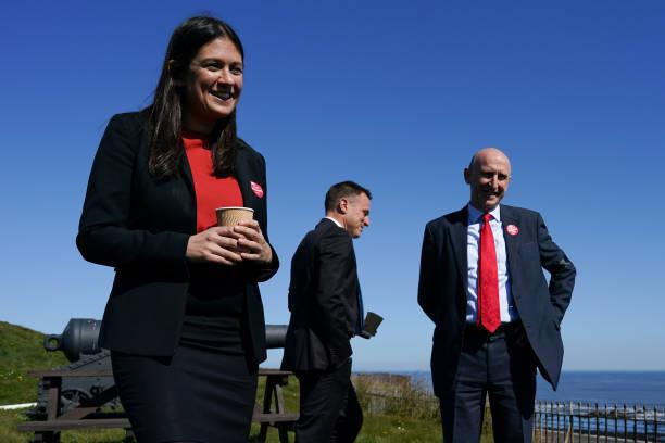GBR: Lisa Nandy MP and John Healey MP visit Heugh Gun Battery in Hartlepool