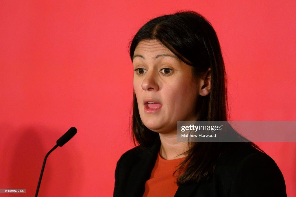 Labour Leadership Hustings Held In Cardiff : News Photo