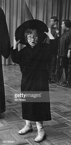 DEC 1 1977 DEC 7 1977 DEC 11 1977 Lisa Neikirk is the smallest of a line of witches that sing in Laradon Hall Christmas Journey