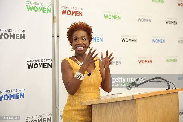 Lisa Nichols attends the 'Texas Conference For Women' 2016 at Austin Convention Center on November 15 2016 in Austin Texas