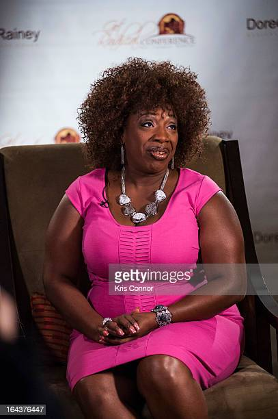 Lisa Nichols speaks during the 2013 Get Radical Women's Conference at Hyatt Regency Reston on March 23, 2013 in Reston, Virginia.