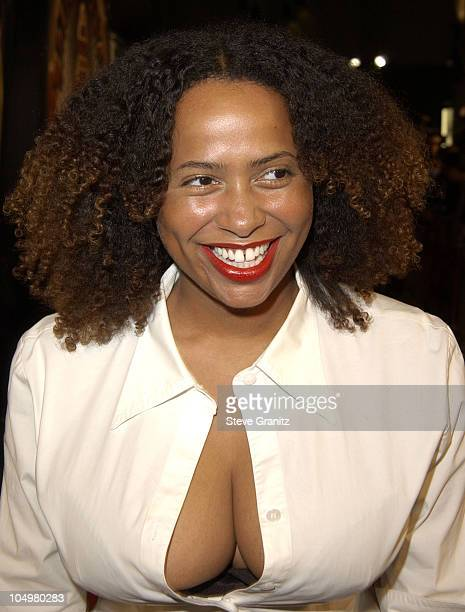 Lisa Nicole Carson during Showtime Premiere at Grauman's Chinese Theatre in Hollywood California United States