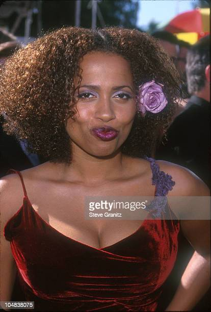Lisa Nicole Carson during The 51st Annual Emmy Awards Arrivals at Shrine Auditorium in Los Angeles California United States