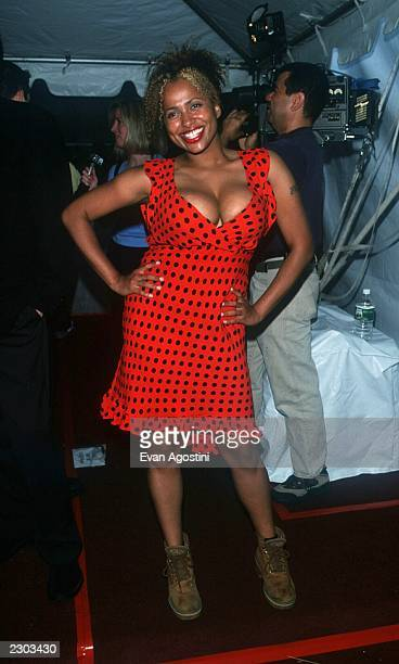 Lisa Nicole Carson from 'Ally McBeal' at FOX TV presentation of their Fall 2000 lineup in New York City 05/18/00 Photo Evan Agostini/ImageDirect