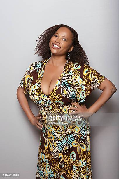 Lisa Nicole Carson is photographed at the 2016 Black Women in Hollywood Luncheon for Essencecom on February 25 2016 in Los Angeles California