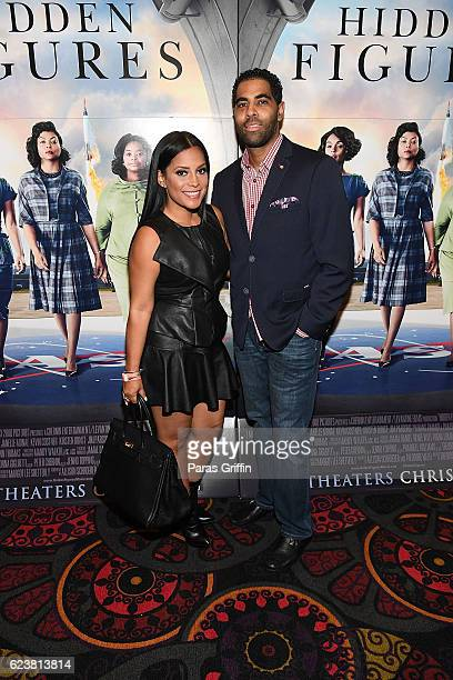 Lisa Nicole Cloud attends Hidden Figures advanced screening hosted by Janelle Monae Pharrell Williams at Regal Cinemas Atlantic Station Stadium 16 on...