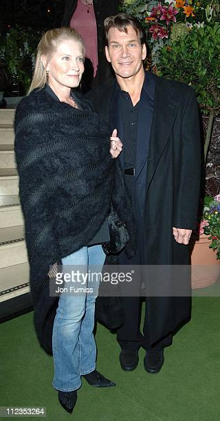Lisa Niemi and Patrick Swayze during 'Keeping Mum' London Premiere After Party at Floridita in London Great Britain