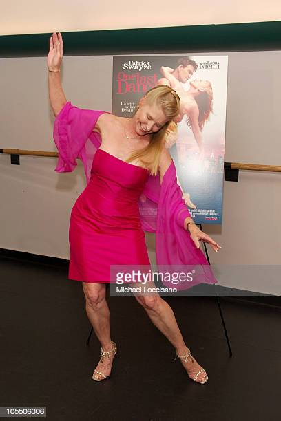 Lisa Niemi costar/cowriter/codirector during Patrick Swayze and Wife Lisa Niemi Celebrate Their New Film One Last Dance at The Joyce Theater in New...