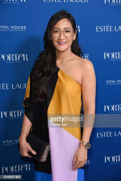 Lisa Nishimura attends PORTER's Incredible Women Gala 2018 Arrivals at Ebell of Los Angeles on October 9 2018 in Los Angeles California