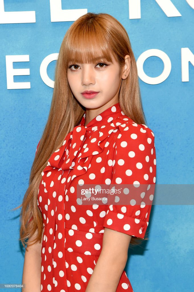Lisa of Blackpink attends the Michael Kors Collection Spring 2019 Runway Show at Pier 17 on September 12, 2018 in New York City.