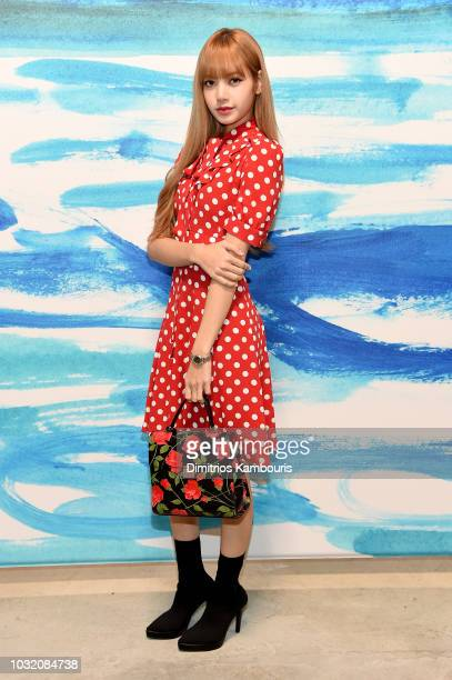 Lisa of Blackpink attends the Michael Kors Collection Spring 2019 Runway Show at Pier 17 on September 12 2018 in New York City