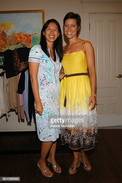 Lisa O'Kelly and Robin Katz attend DOLCE GABBANA Benefit Luncheon hosted by Jessica Seinfeld Claude Wasserstein and Stephanie Winston Wolkoff for...