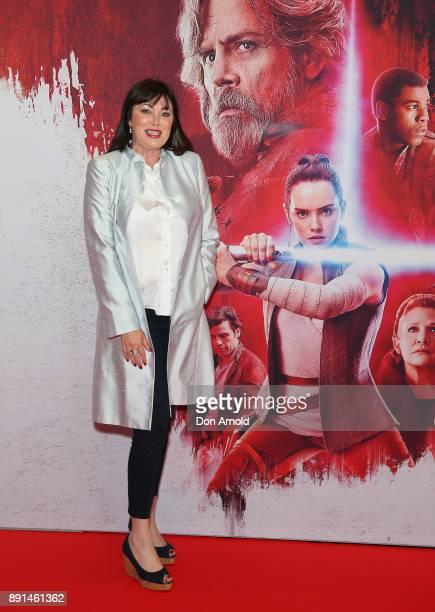 Lisa Oldfield attends Star Wars The Last Jedi Sydney Screening Event on December 13 2017 in Sydney Australia