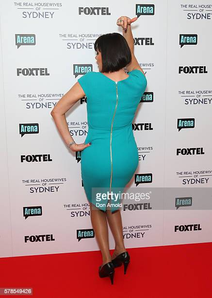 Lisa Oldfield poses during a media call to announce the cast of The Real Housewives of Sydney at the Park Hyatt on July 22 2016 in Sydney Australia