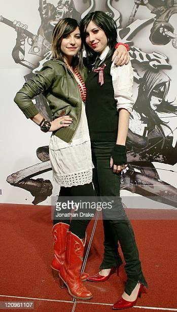 Lisa Origliasso and Jess Origliasso of The Veronicas
