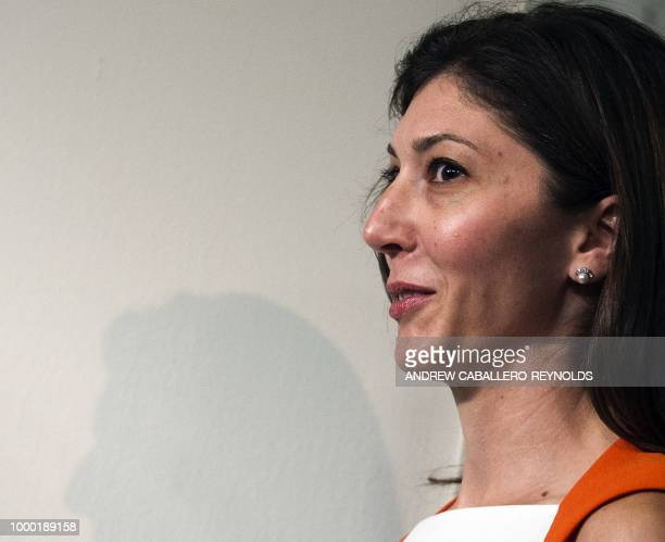 Lisa Page former legal counsel to former FBI Director Andrew Mc Cabe arrives to speak before the House Judiciary and Oversight Committee on Capitol...