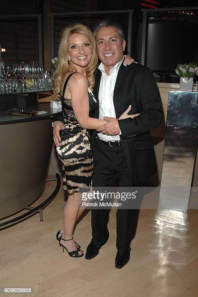 Lisa Paladino and Michael Paladino attend DONNY DEUTSCH'S Birthday Celebration at Jazz on December 15, 2007 in New York City.