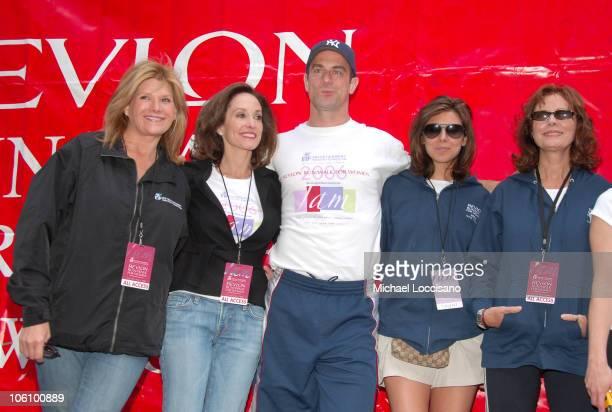Lisa Paulson CoFounder Revlon Run/Walk Lilly Tartikoff CoFounder Revlon Run/Walk Christopher Meloni Jamie Lynn Sigler and Susan Sarandon